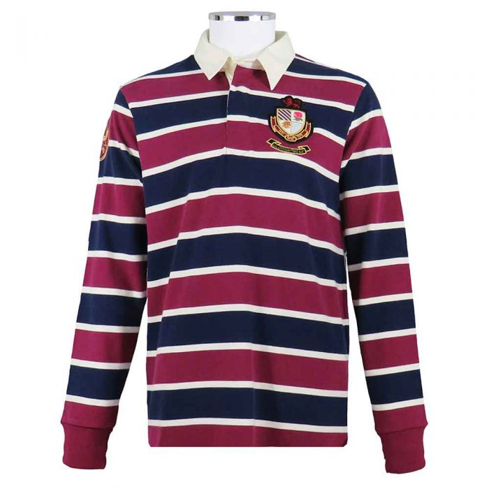 England-Rugby-Shirt-Vintage-Triple-Blue-Front