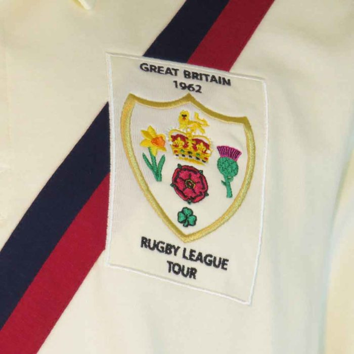 Great Britain Rugby League Shirt 1962 Badge