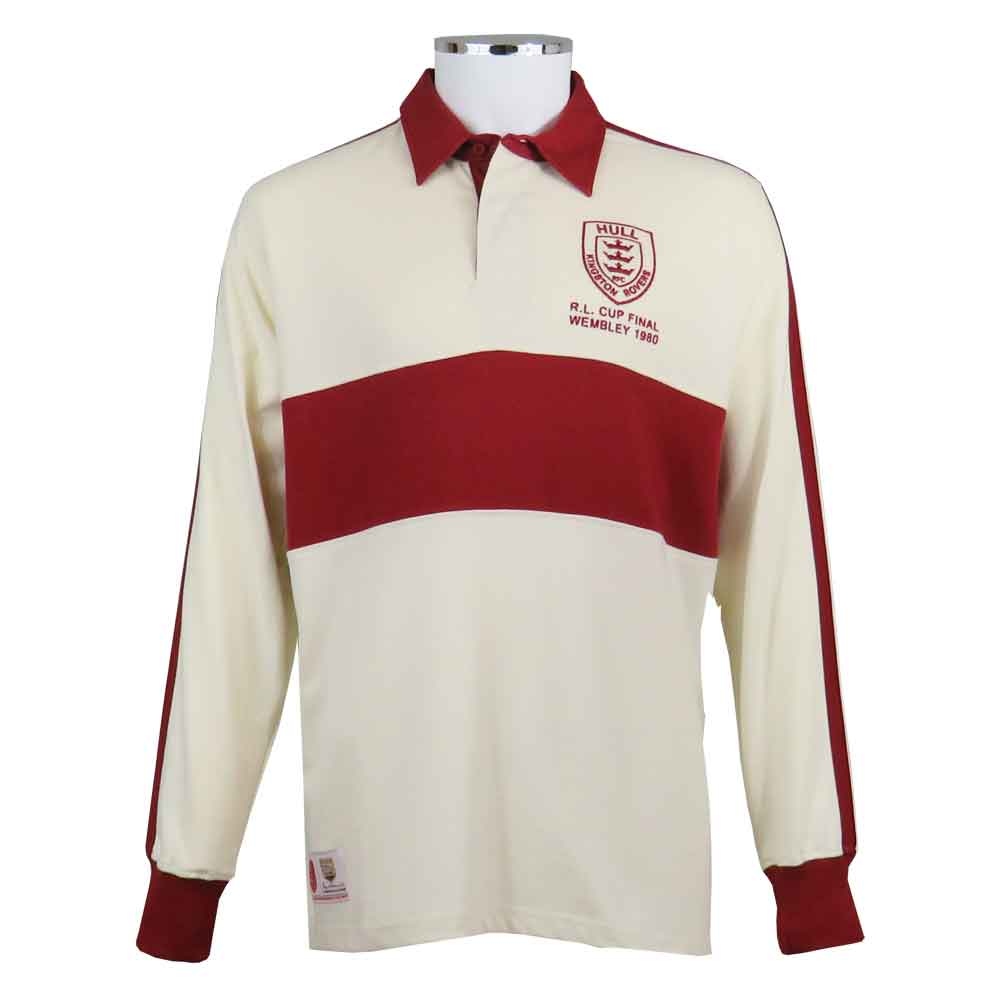 Hull KR Rugby League Shirt 1980 Front