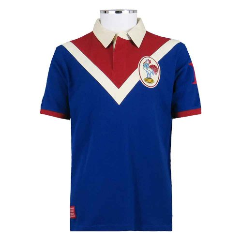 Retro-France-Rugby-League-Shirt-Polo-front