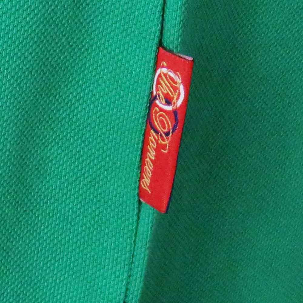 Retro Ireland Rugby Shirt Polo Side Tab