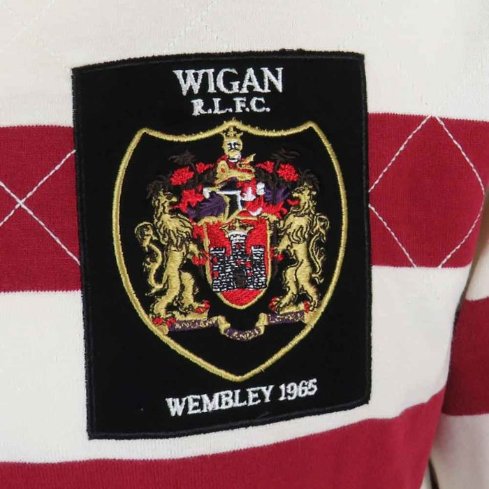 Wigan Rugby League Shirt 1965 Badge