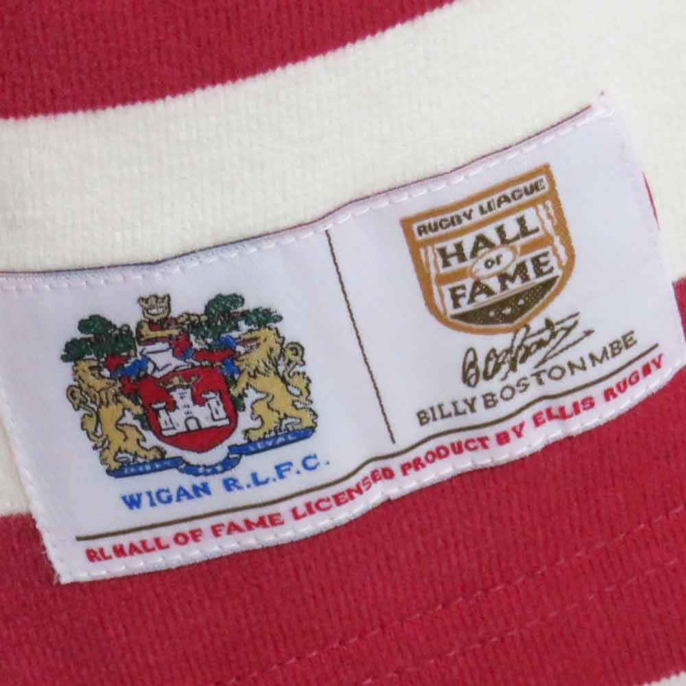 Wigan Rugby League Shirt 1965 Label