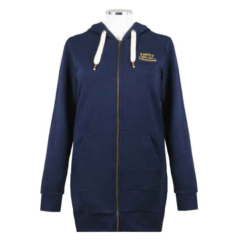 Womens-Rugby-LongHoodie-Emily-Valentine-Navy-Front