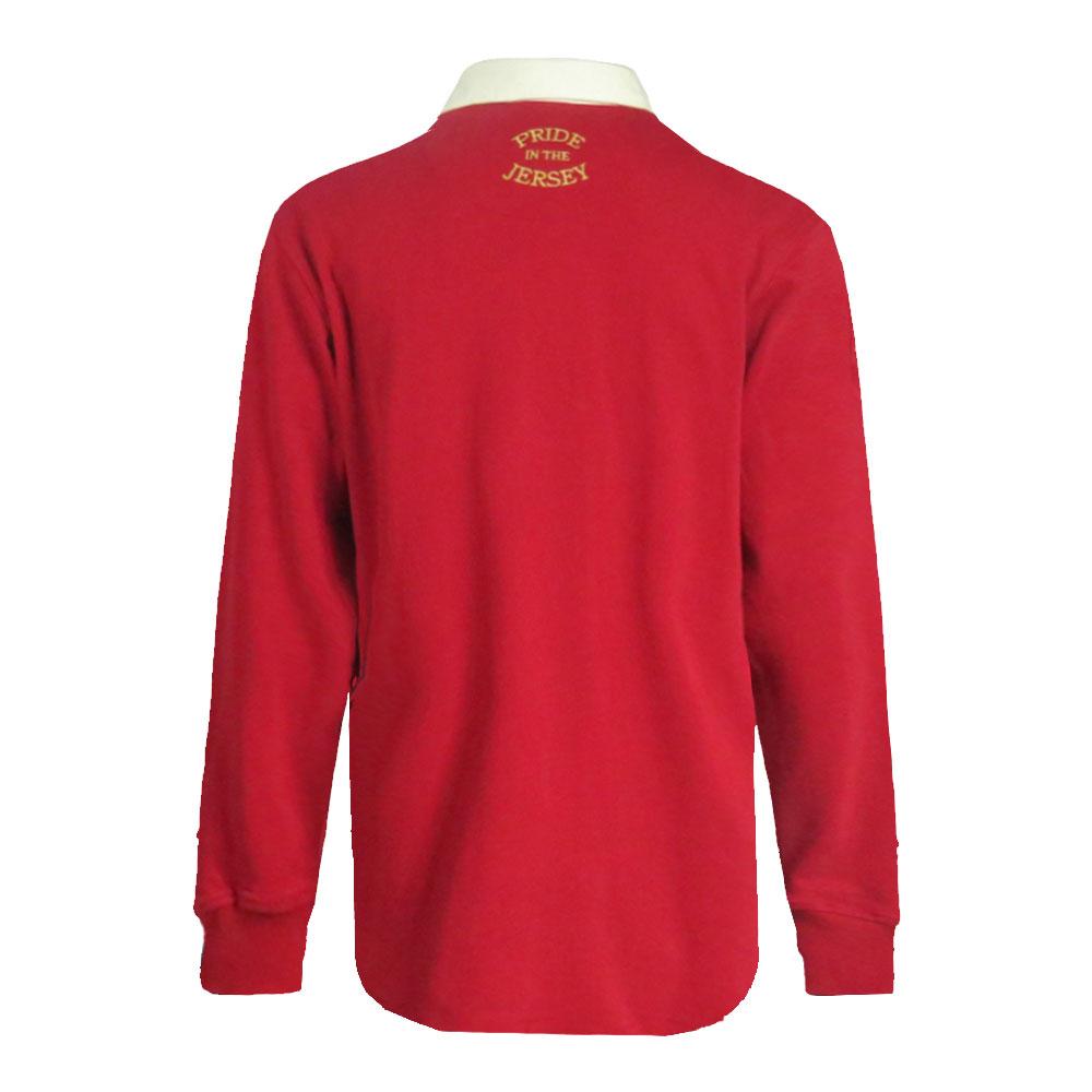 Canada Rugby Union Shirt Back