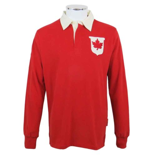 Canada Rugby Union Shirt Front