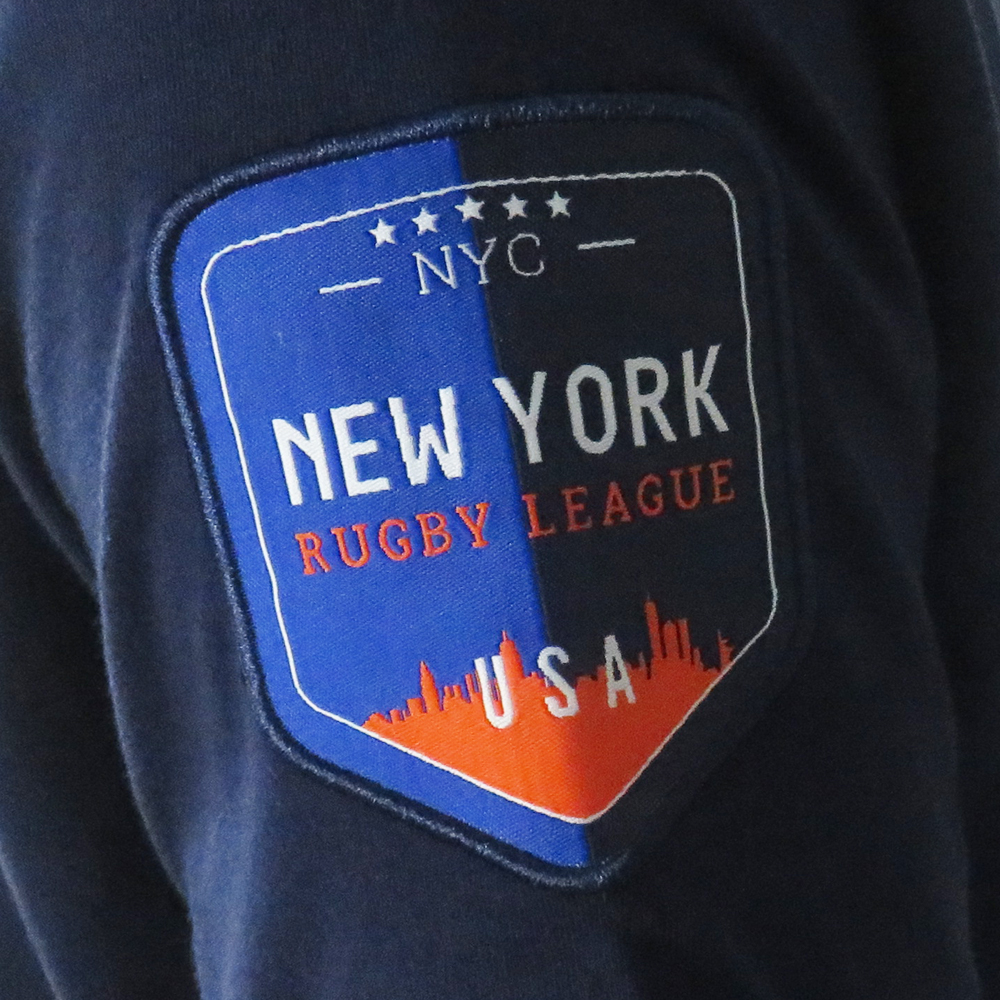 New York Rugby League Badge Detail Image