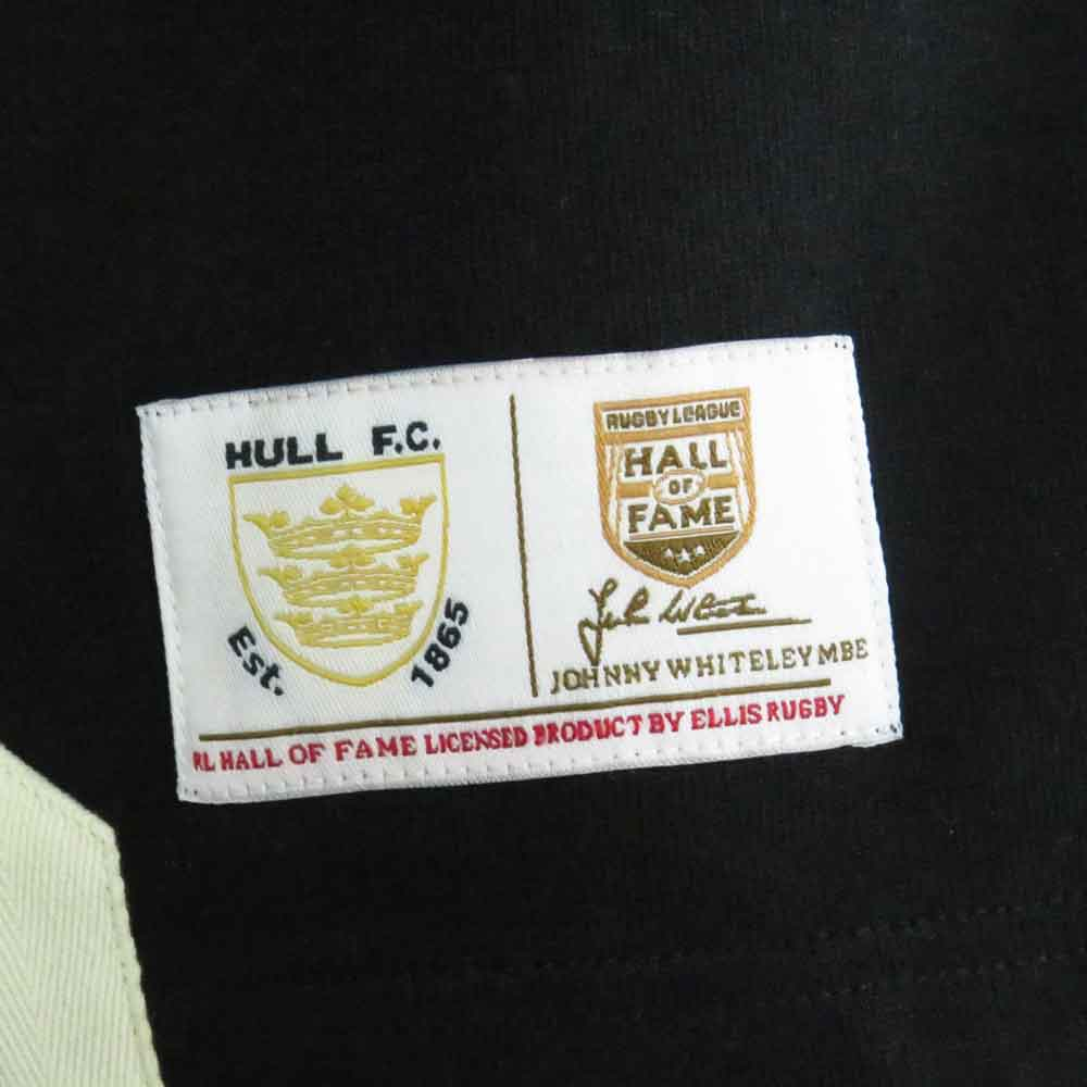 Hull FC Rugby League Shirt Label