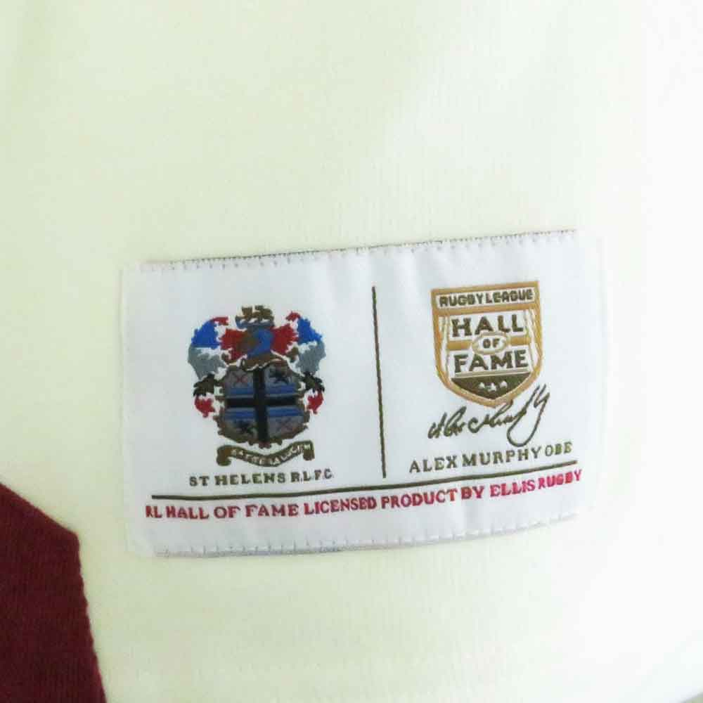 St Helens Rugby League Shirt 1966 Badge